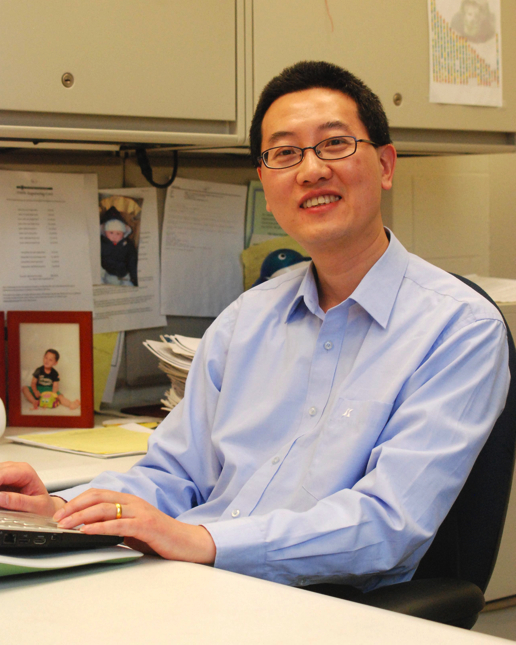 Jianzhi George Zhang : Marshall W. Nirenberg Collegiate Professor of Ecology and Evolutionary Biology