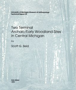 Two Terminal Archaic/Early Woodland Sites in Central Michigan