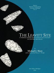 The Leavitt Site: A Parkhill Phase Paleo-Indian Occupation in Central Michigan