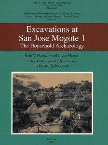 Excavations at San José Mogote 1: The Household Archaeology