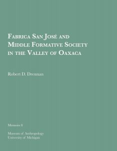 Fabrica San Jose and Middle Formative Society in the Valley of Oaxaca