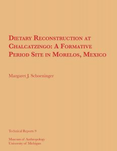 Dietary Reconstruction at Chalcatzingo: A Formative Period in Morelos, Mexico