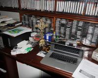 workspace with vhs