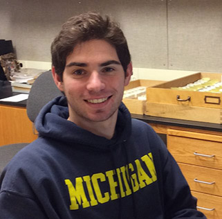 Greg Hanafin : Undergraduate Research Assistant, 2014