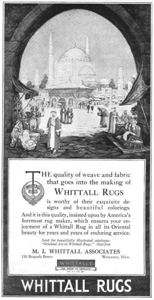 "Whittall Mills Advertisement"" | Brian P"