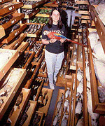 Janet Hinshaw : Collection Manager (Birds)