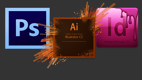 Adobe Suite Slide (Home Page)