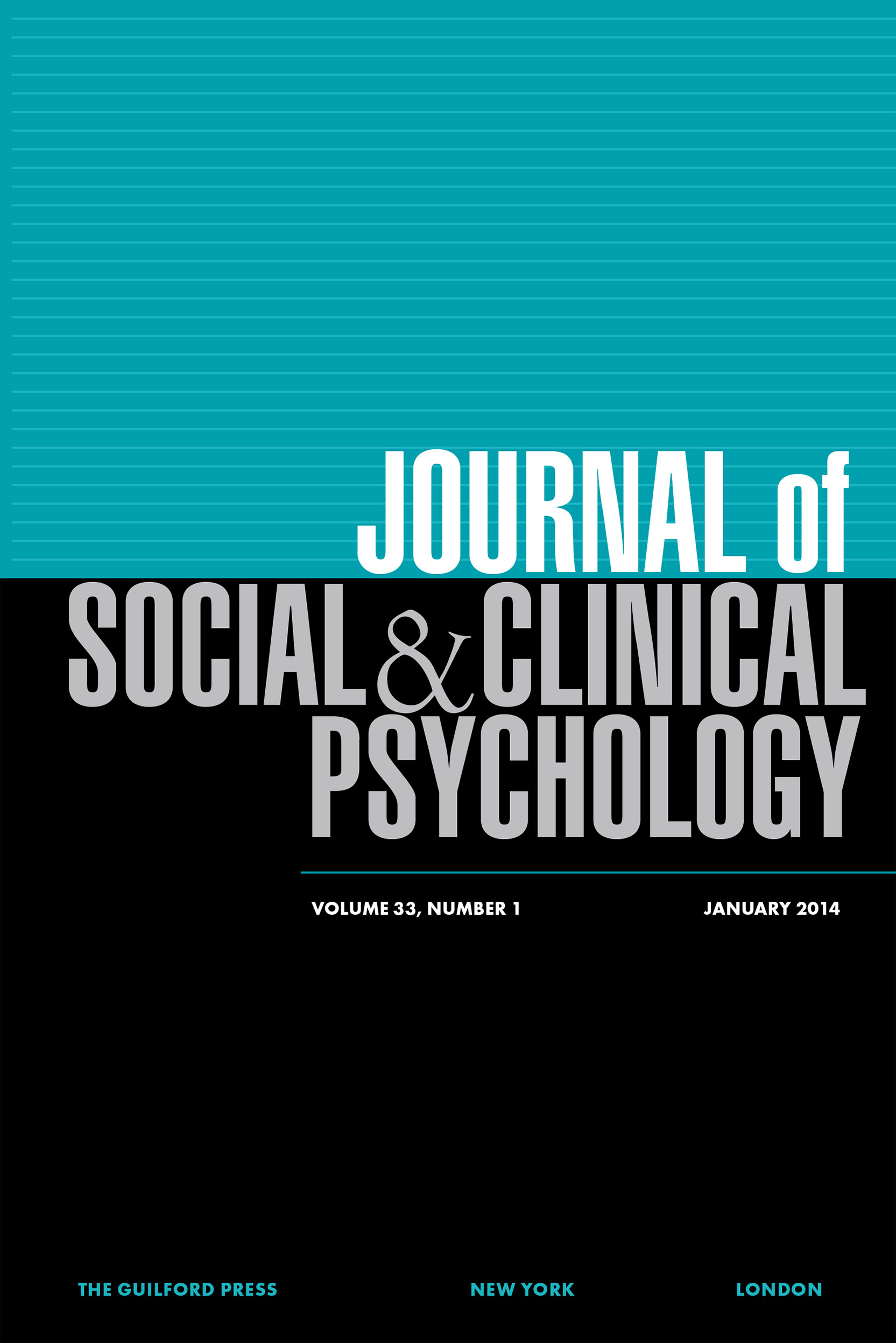journal of social and clinical psych cover