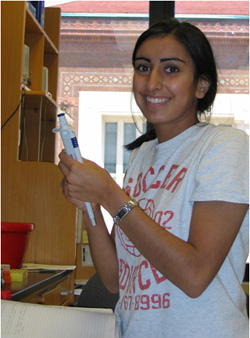 Seema Jeswani : Undergraduate Student