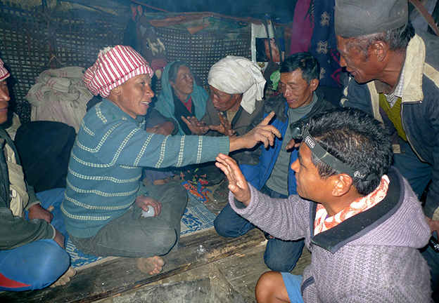 FAMILY & POLITICS. Marriage Negotiations in Tamang village, Nepal, 2015 (Fricke)