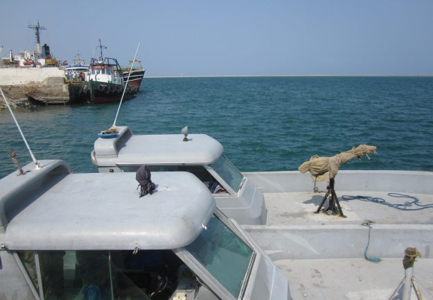 LAW. Coast Guard boats in N. Somalia (Dua)