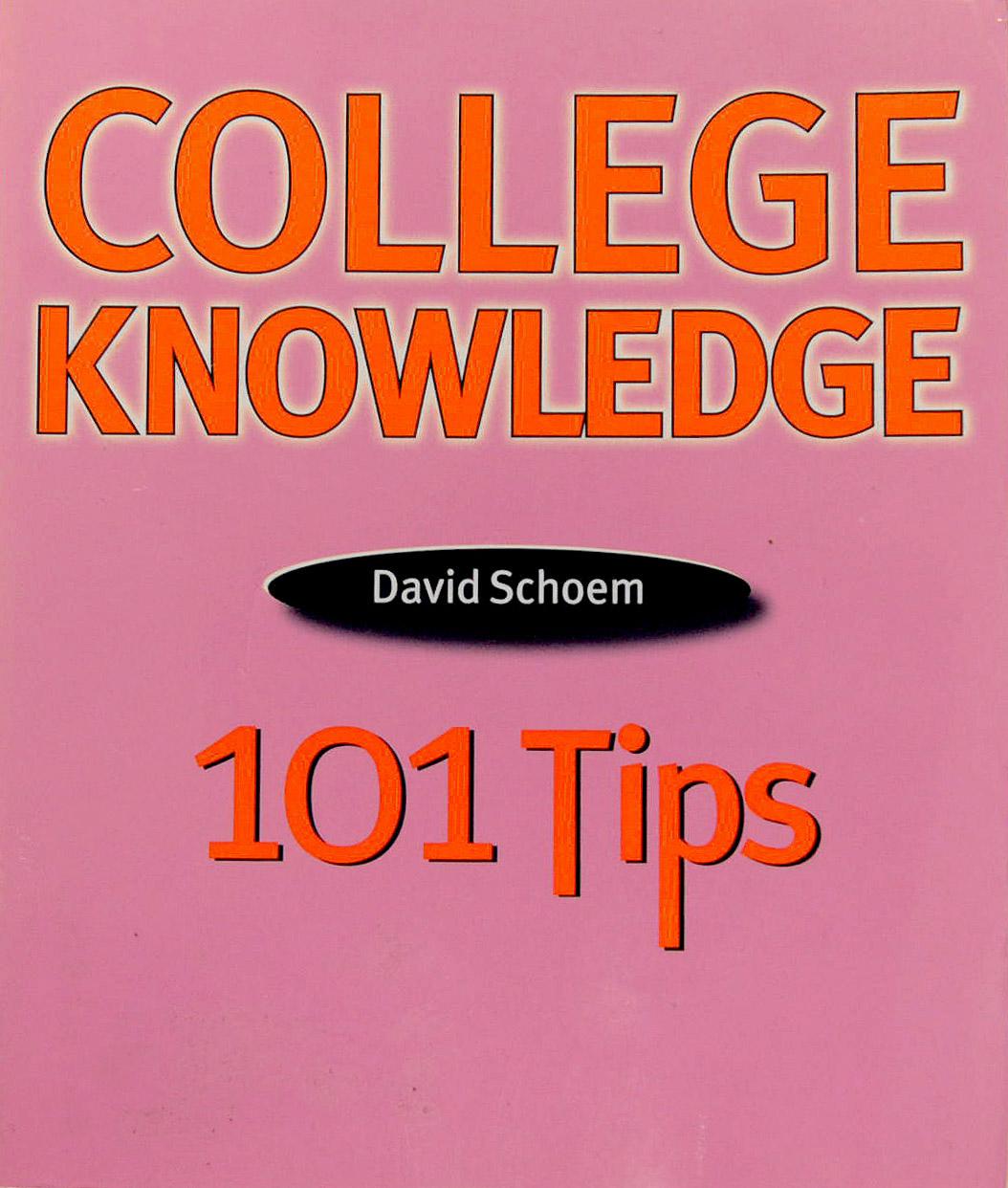 CollegeKnowledge101