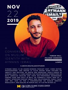 A Conversation on Muslim Identity with Aymann Ismail @ Forum Hall, Palmer Commons, University of Michigan
