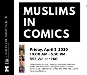 CANCELLED - Muslims in Comics: Superheroes & Scapegoats @ University of Michigan