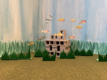 Undersea scape from Katrina's stop motion film