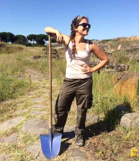 Arianna Zapelloni Pavia : Assistant Trench Supervisor