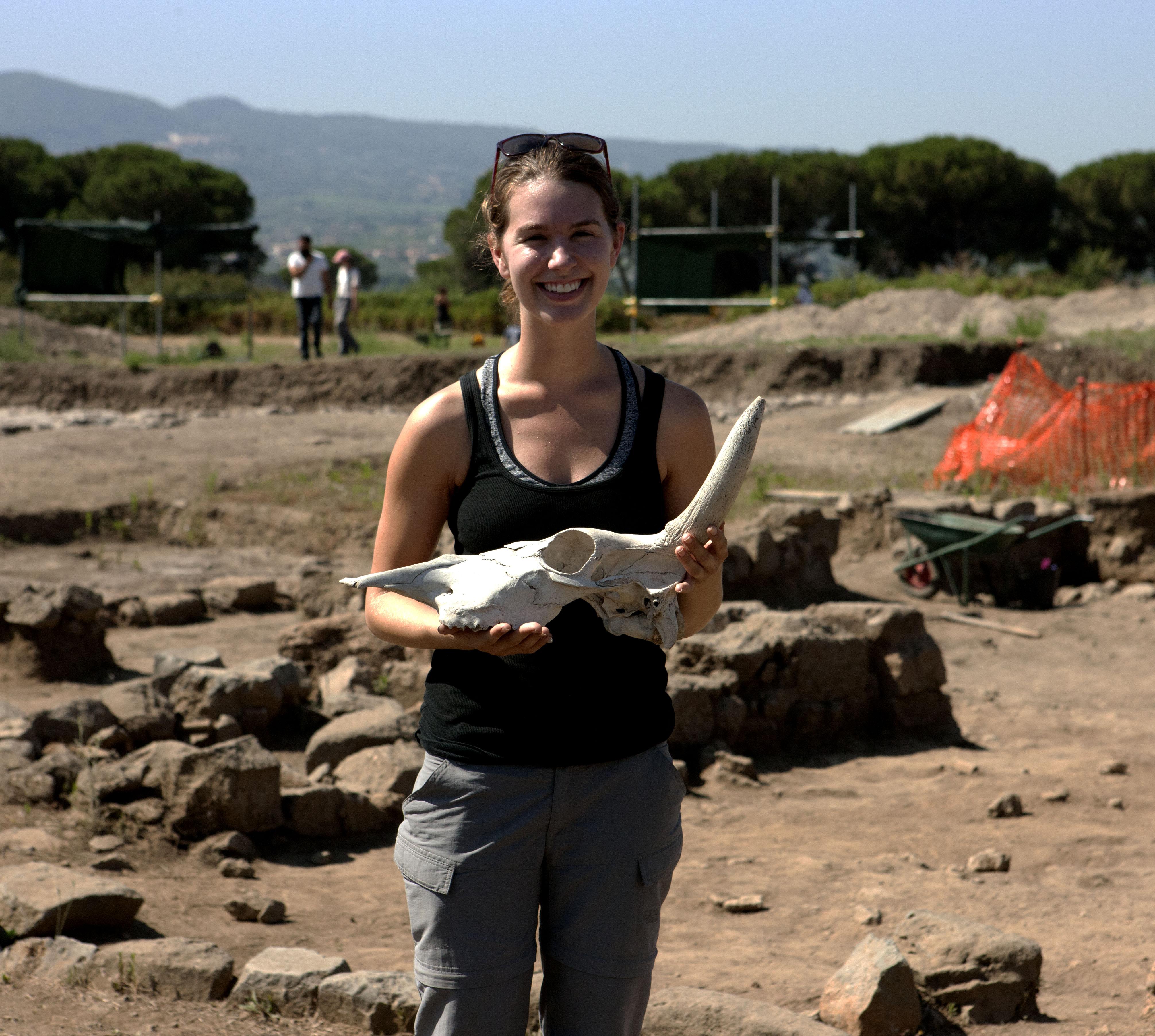 Vicki Moses : Archaeozoology Supervisor
