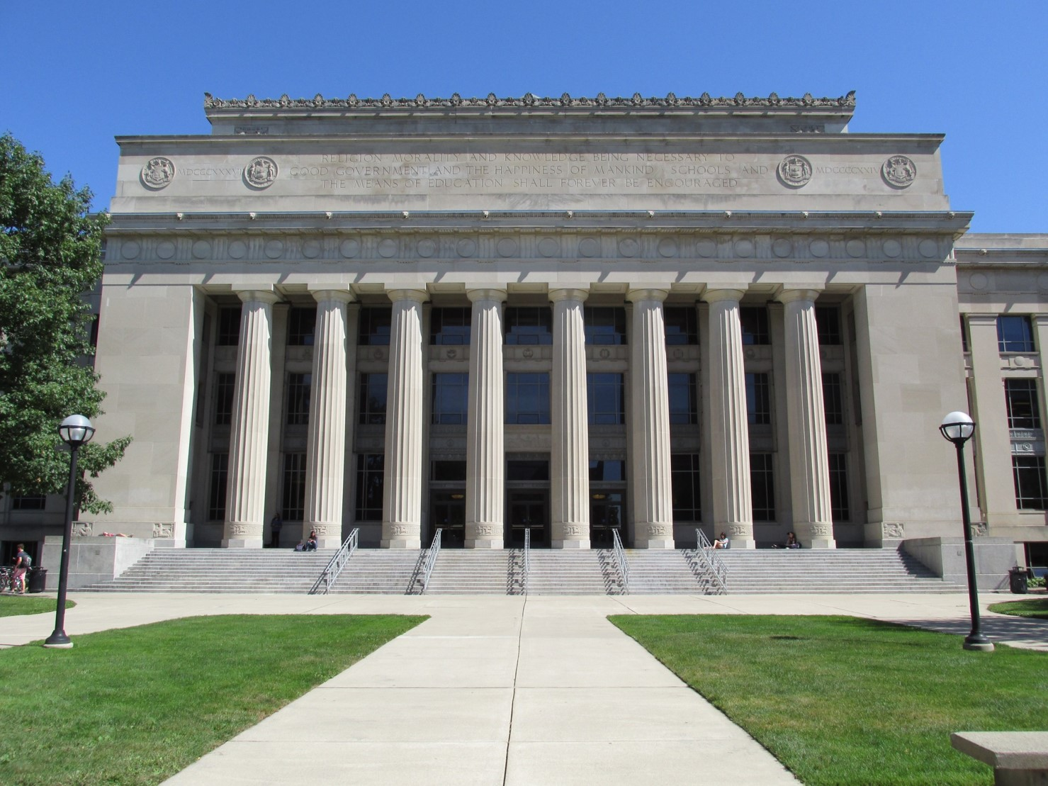 Angell Hall, University Of Michigan Central Campus