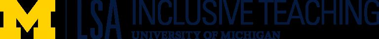 M|LSA Inclusive Teaching University of Michigan