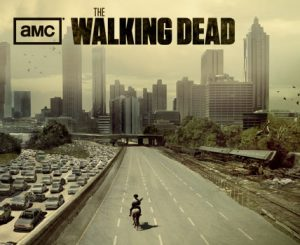 Poster for season 1 of AMC's The Walking Dead