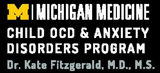 Child OCD & Anxiety Disorders Program