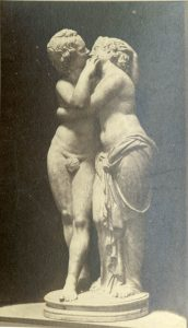 Statue of Cupid and Psyche.