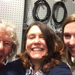 author photo with LW staff