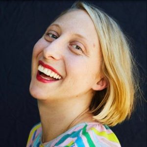 Emma Straub laughing, author photo