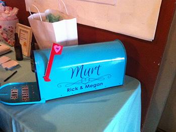 wedding mailbox