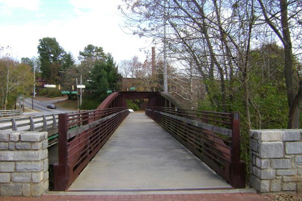 Bridge Across the Oconee River, Athens Georgia by Michael Rivera