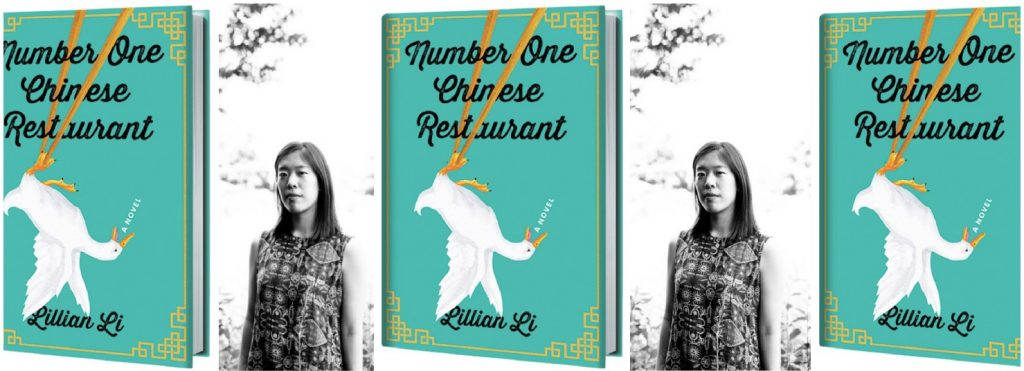 number one Chinese restaurant collage with lillian li head shot