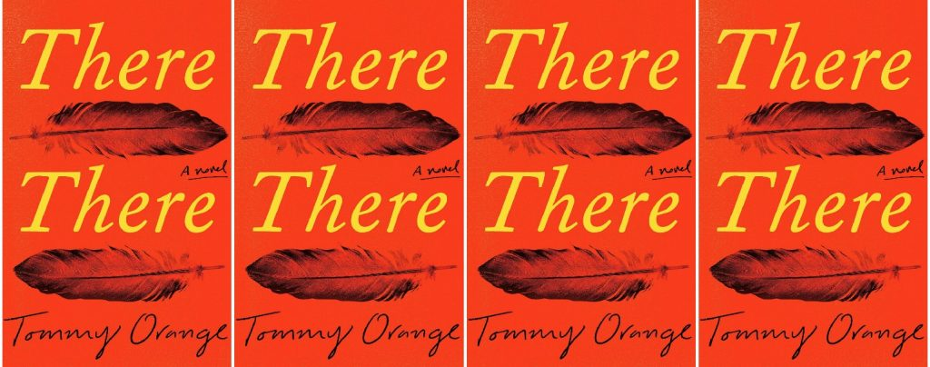 there there by Tommy Orange collage