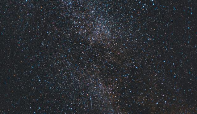 Stars against a dark sky