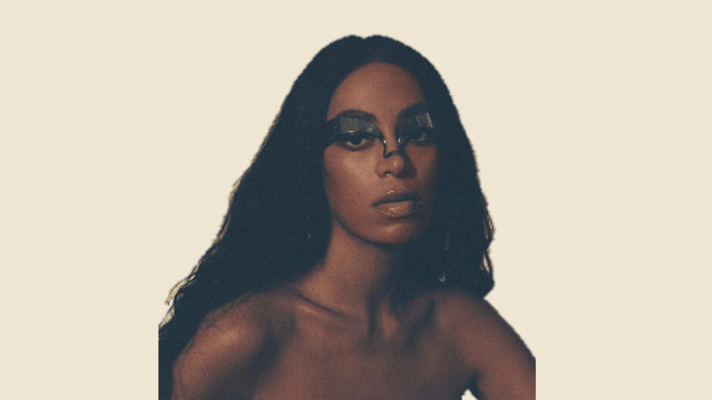 """Cover of solange's 2019 LP """"When I Get Home"""""""