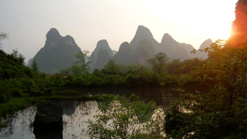 Dianchi Lake in China