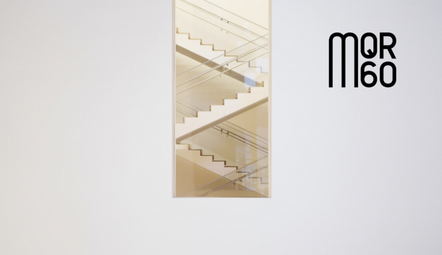 Stairs Stock Image with MQR60 Logo