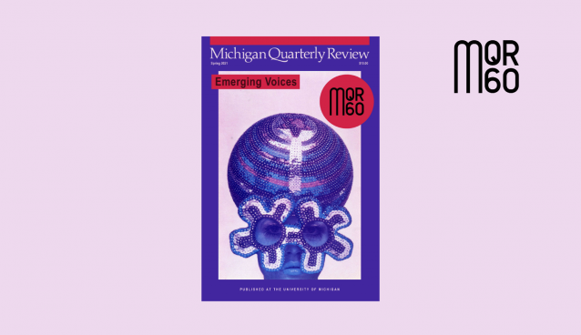 Spring 2021 (MQR60) Issue Cover with MQR 60 Logo