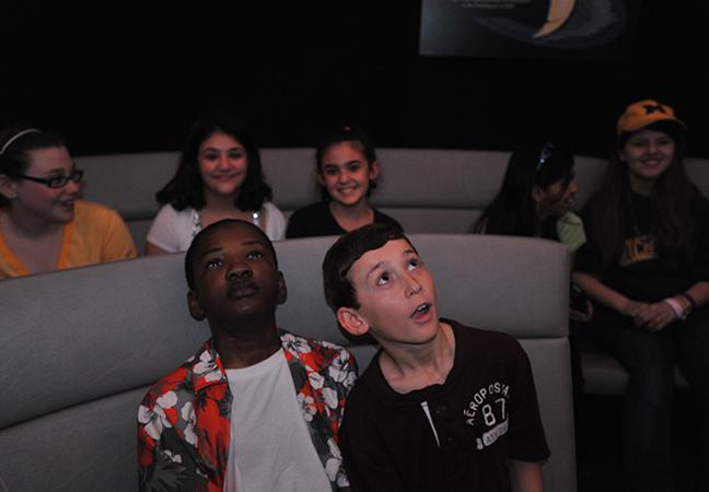 School Group in Planetarium