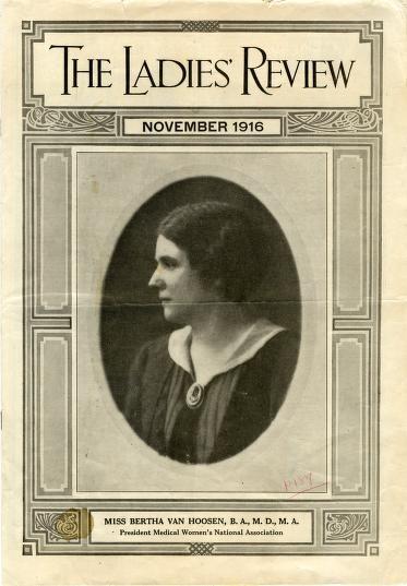 Bertha Van Hoosen