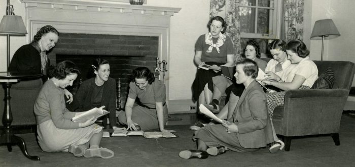 Residents of Helen Newberry Residence, ca. 1938