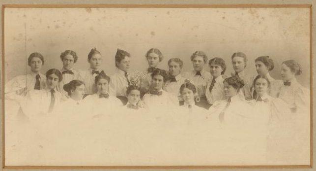 Collegiate Sorosis 1894-1895