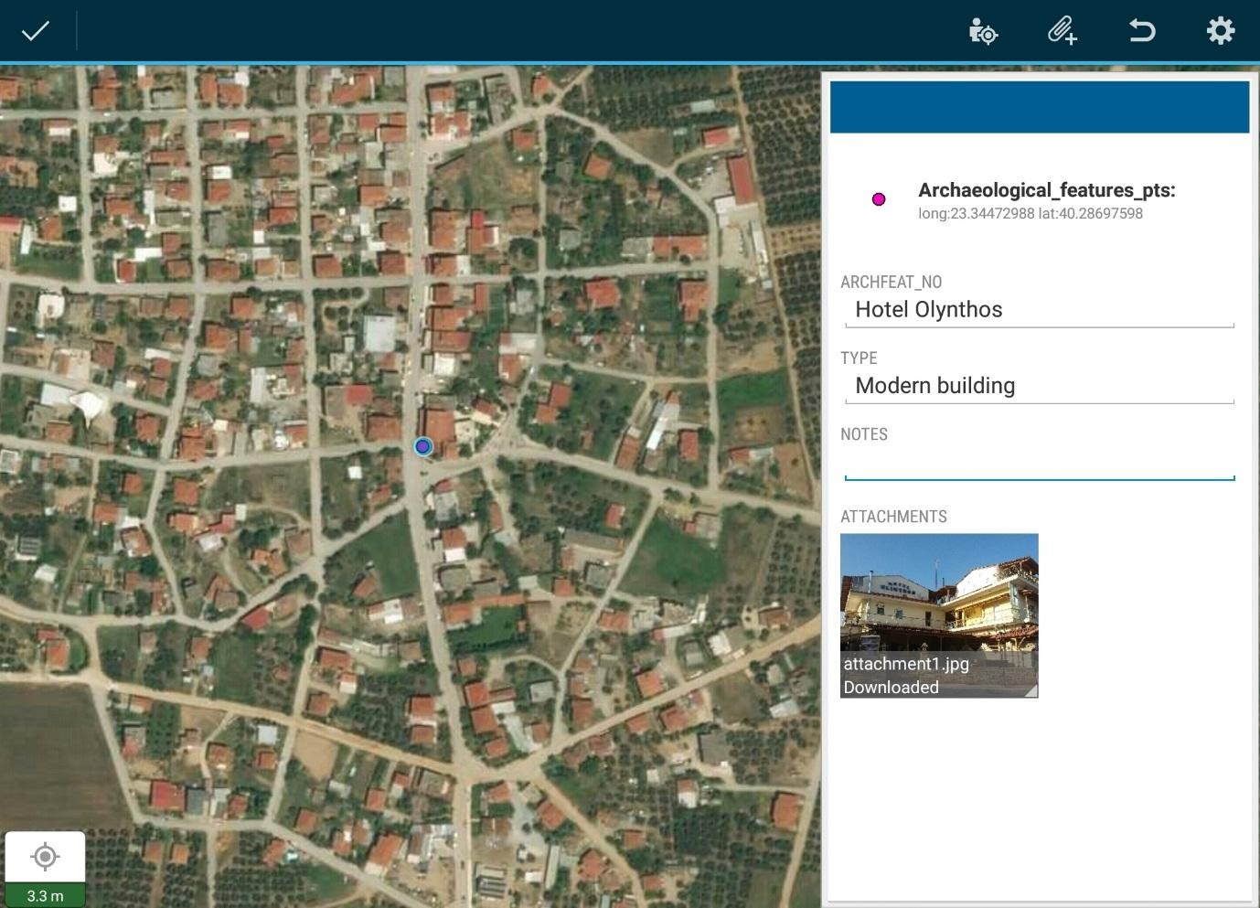 Mobile-GIS at Olynthos, by Hannah Pethen | OLYNTHOS PROJECT