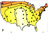 Waves of pertussis epidemics in the US from 1951-1962 (Choisy & Rohani 2012)