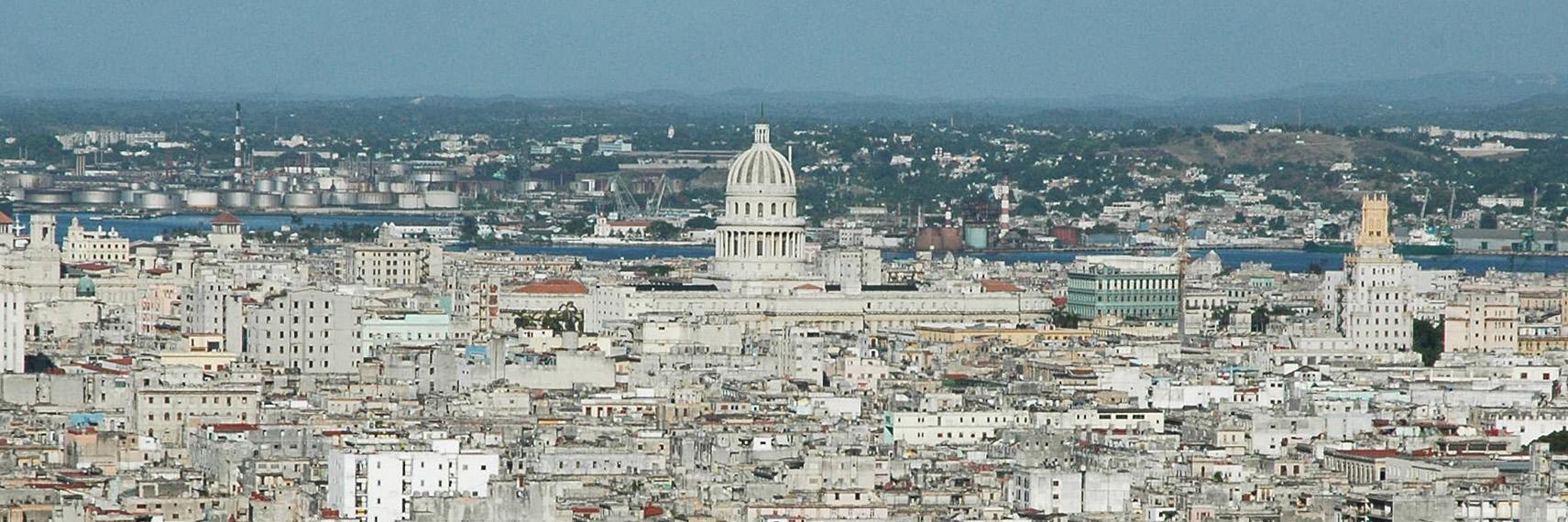 panorama of cuba