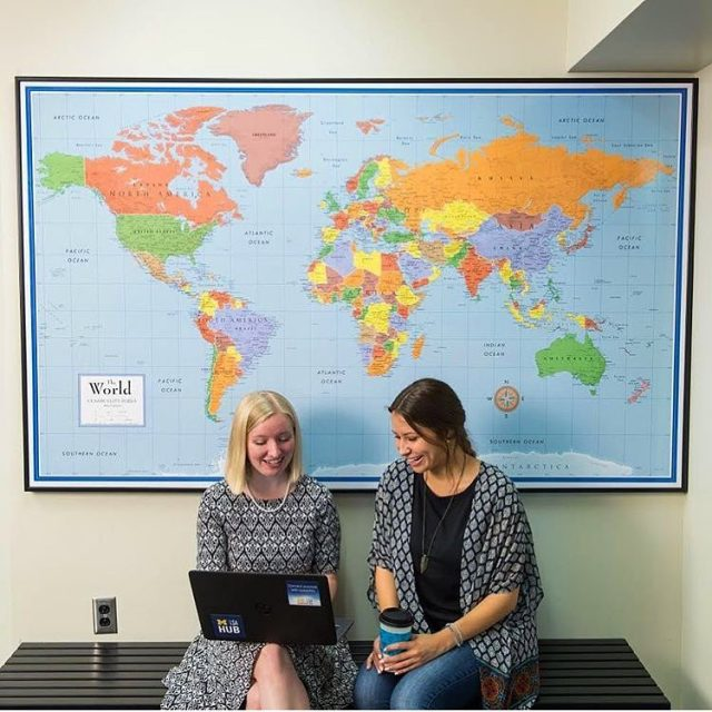 Does seeing a map give you wanderlust? This InternationalEducationWeek comehellip