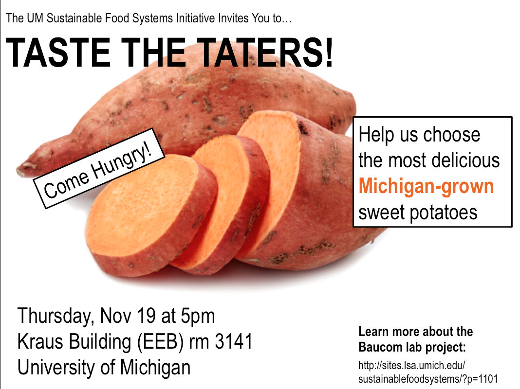 Taste the Taters (Nov 19) – Sustainable Food Systems ...