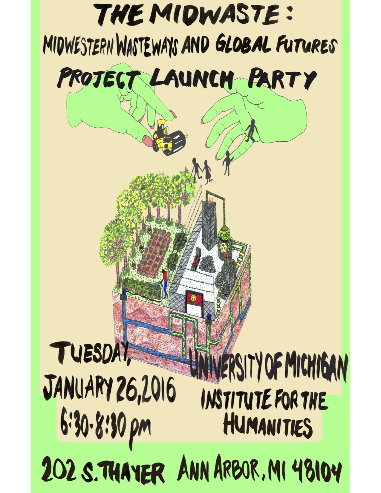 THE MIDWASTE: Midwestern Wasteways and Global Futures Project Launch Party (Jan 26)