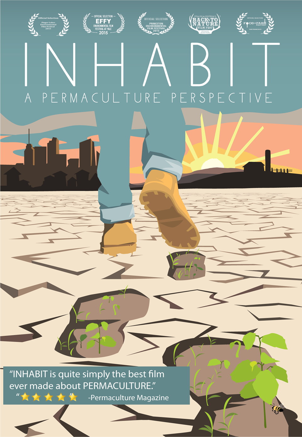 Inhabit: A Permaculture Perspective Film Screening (April 19)