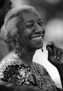 Edna Lewis, Duane Park, New York City, 1983.