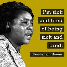 Fannie Lou Hamer testifying at the 1964 Democratic National Convention